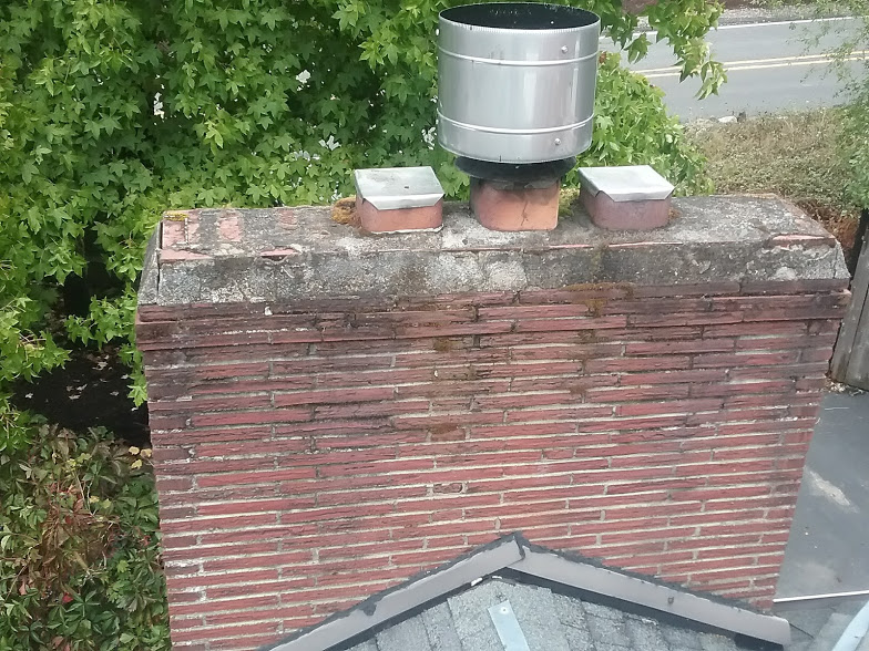 Wind cover (prevents wind from coming down the chimney)