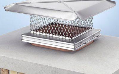 12″ x 16″ Stainless Steel Rain Cap – The Chimney Sweep's Choice